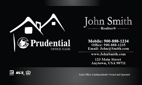 Prudential Realtor Business Card - Design #105211