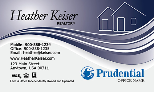 Realtor Prudential Business Card - Design #105281