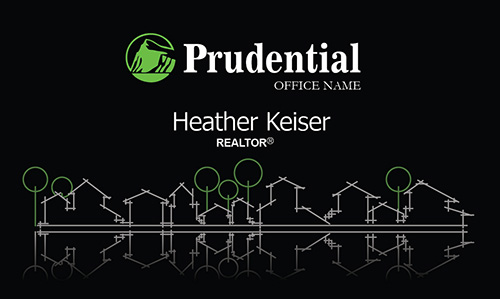Stylish Prudential Realtor Business Card - Design #105291