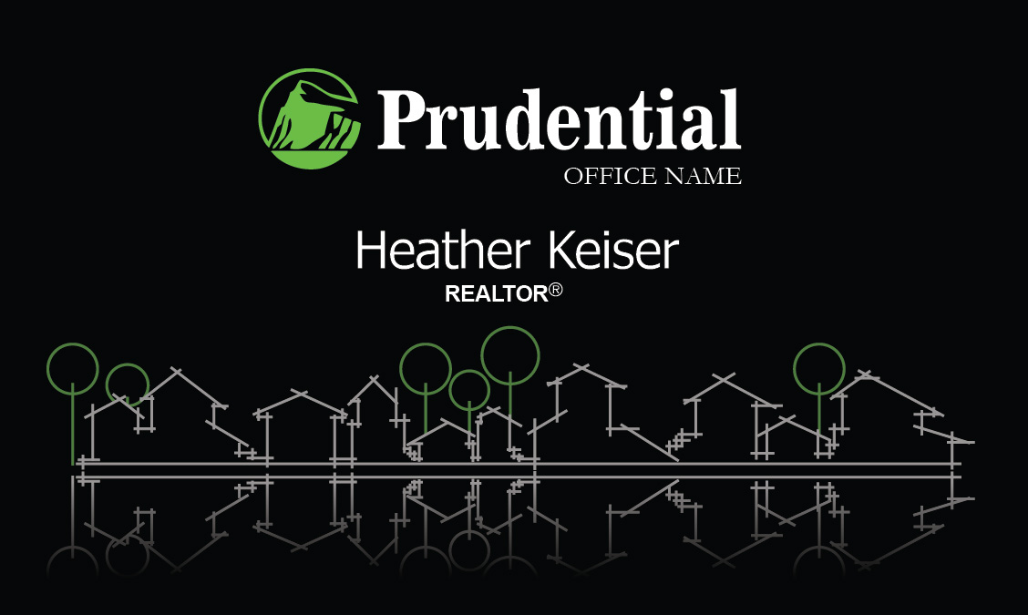 Stylish prudential realtor business card design 105291 reheart Image collections