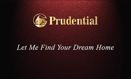 Prudential Red Realtor Business Card - Design #105312
