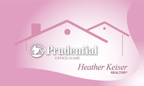 Prudential Business Card Cute Pink - Design #105361