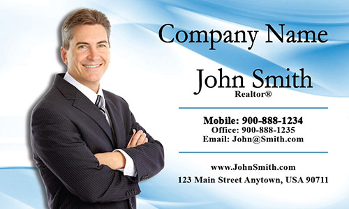 Real Estate Business Card - Design #106011