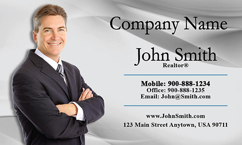 Real Estate Business Card - Design #106012