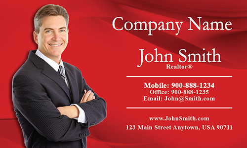 Real Estate Business Card - Design #106013