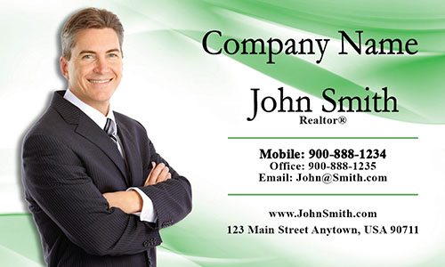 Real Estate Business Card - Design #106014