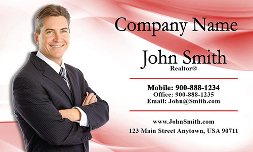 Real Estate Business Card - Design #106015