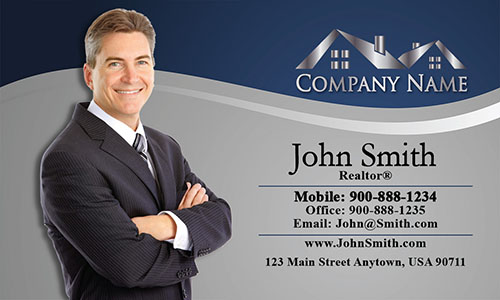 Real Estate Agent Business Card - Design #106072