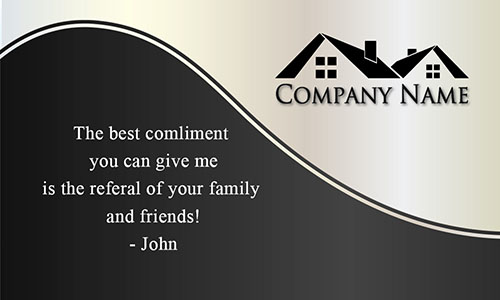 Custom Realty Business Card - Design #106131