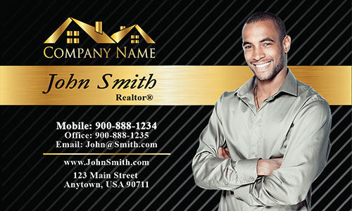 Modern Real Estate Business Card - Design #106151