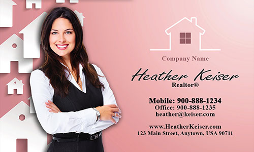 Realtor Photo Business Card - Design #106173