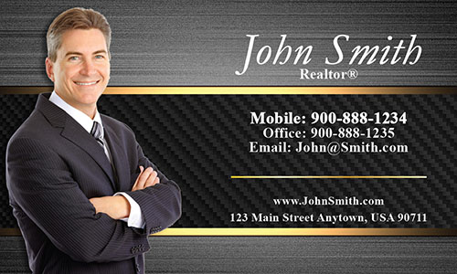 Stylish Realtor Business Card - Design #106181