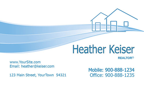 House Realtor Business Card - Design #106321