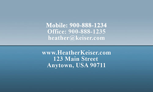 Custom Realtor Business Card - Design #106372