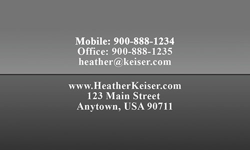 Custom Realtor Business Card - Design #106374