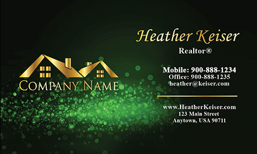 Double Sided Realtor Business Card - Design #106434