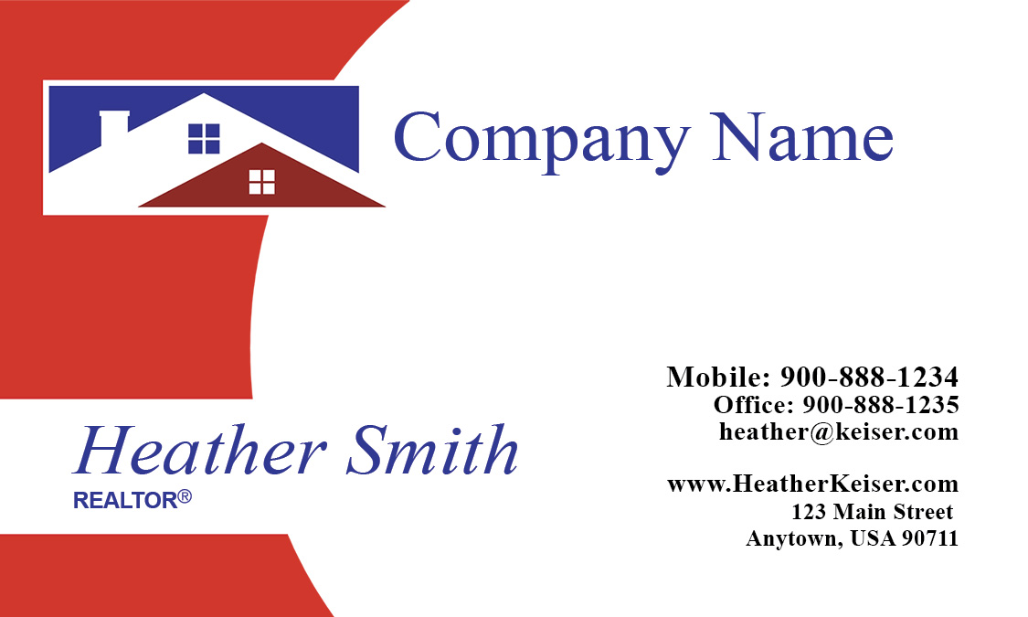 Real estate agent business card design 106501 fbccfo Choice Image