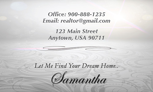 Gray Realty One Group Business Card - Design #107101