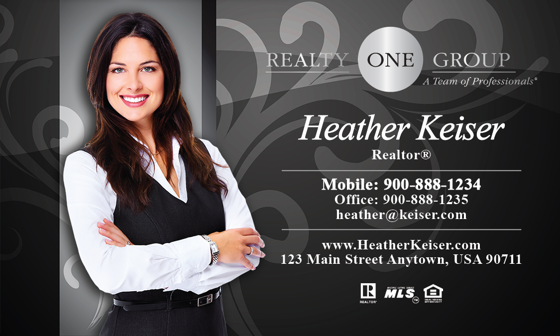 Realty One Group Business Card - Design #107121