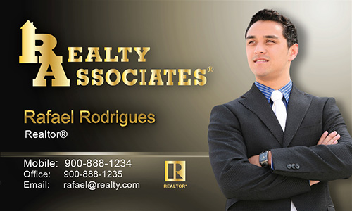 Blue Realty Associates Business Card - Design #109022