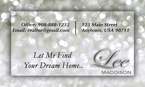 Gray Realty Associates Business Card - Design #109051