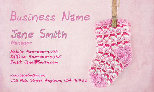 Nanny Business Card - Design #1101011
