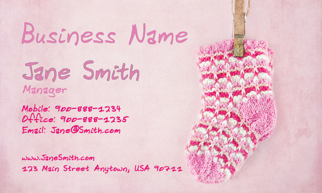 Business card design 1101011 nanny business card design 1101011 wajeb Gallery