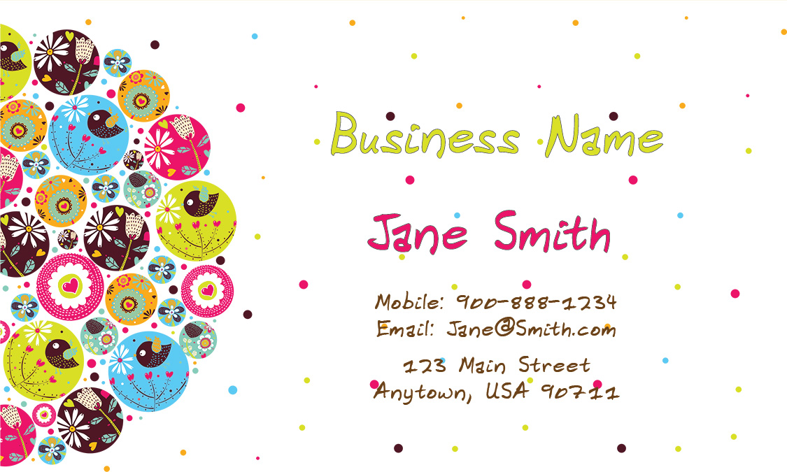 Business Card Design 1101131