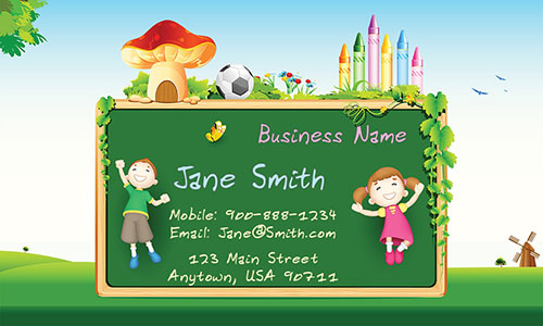Tutor Business Card - Design #1101141
