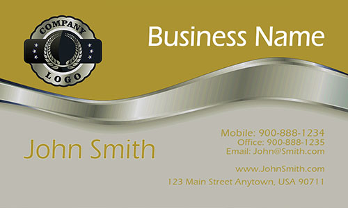 Contractor Business Card - Design #1201433