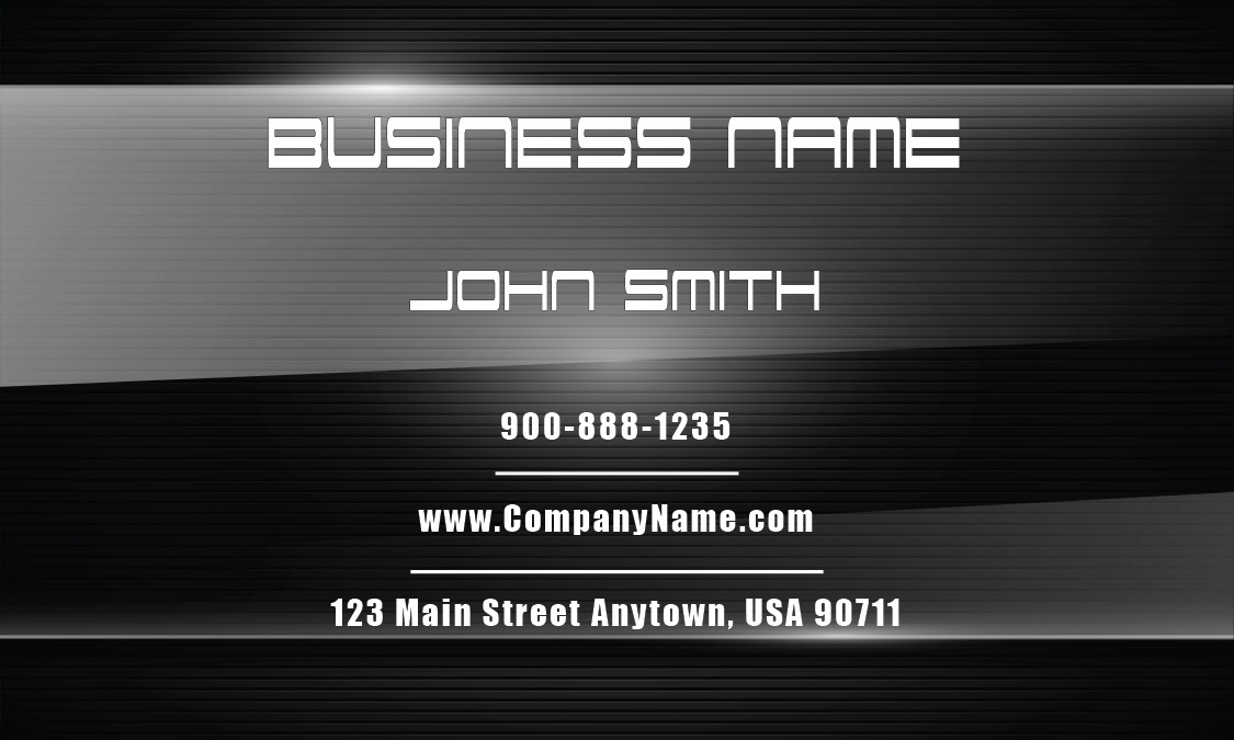 Personal Business Card - Design #1201521
