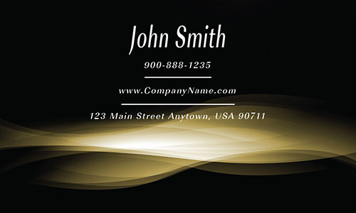 Yellow Smoke Shop Business Card - Design #1201665