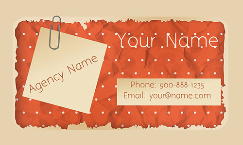 Red House Cleaning Business Card - Design #1301051