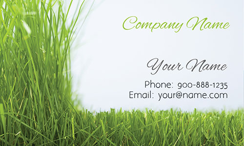 Grass Gardener Business Card - Design #1304021