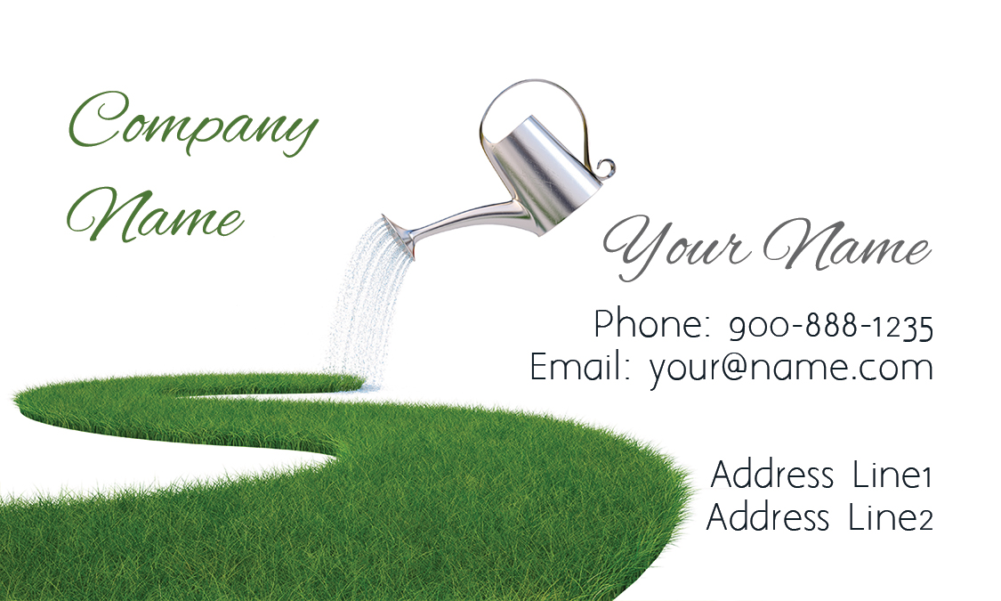 lawn service grass business card design 1304051 - Lawn Service Business Cards