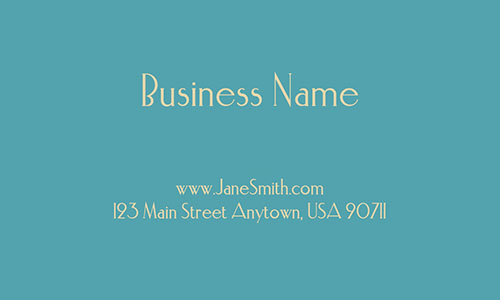 Blue Gardener Business Card - Design #1304101
