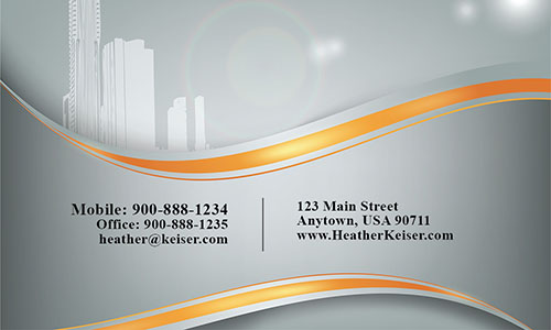 Gray Architecture Business Card - Design #1401091