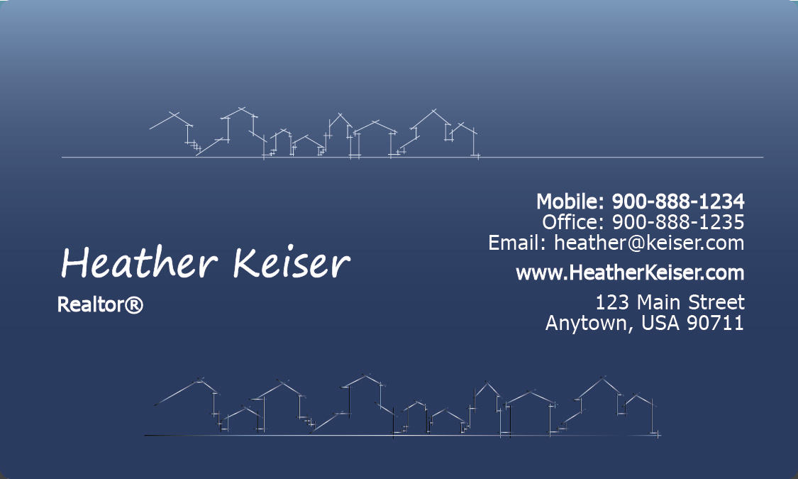 Architecture Business Card - Design #1401141