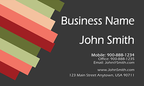Brown Consulting Business Card - Design #1601011