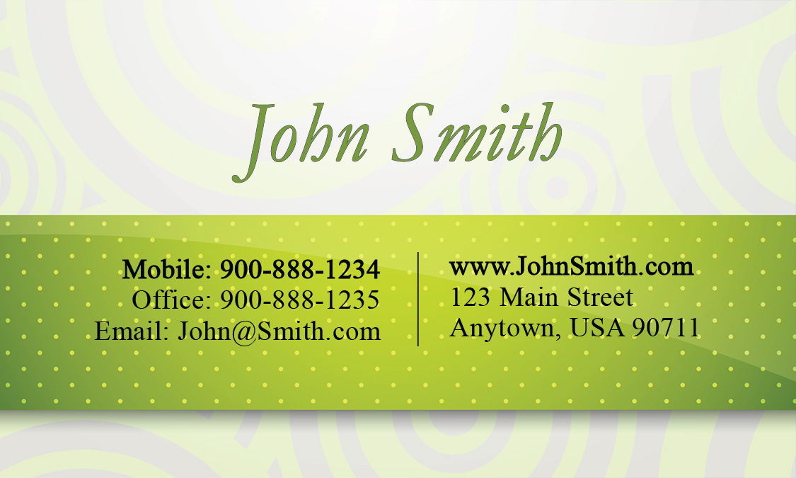 Consulting Business Card - Design #1601051