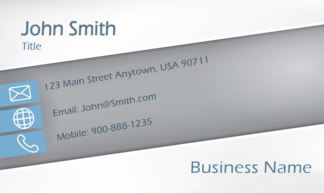 Gray Consulting Business Card Design 1601181