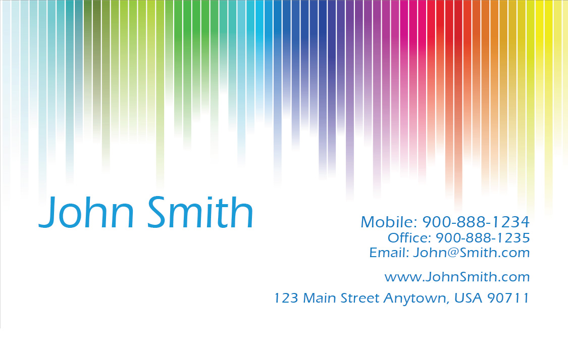 Painting Business Card Design - Painter business card template