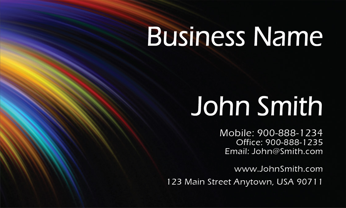 Black painting business card design 1701081 colourmoves
