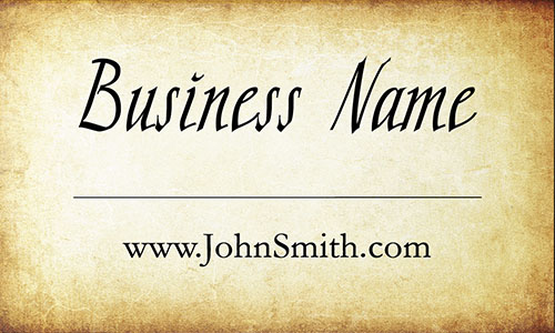 Brown Military Business Card - Design #1801031