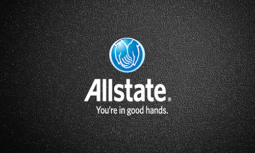 Blue Allstate Business Card - Design #201041