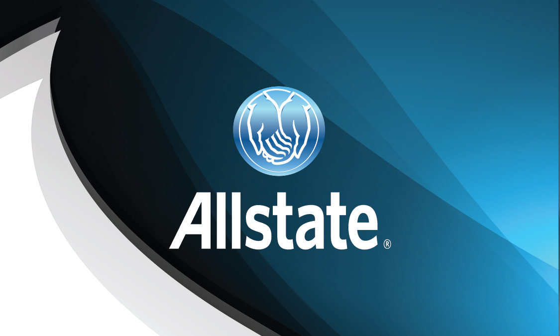 Blue Allstate Business Card Design 201091