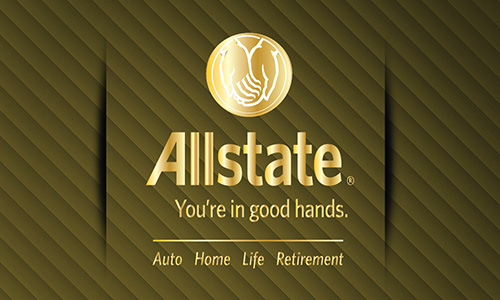 Yellow Allstate Business Card - Design #201114