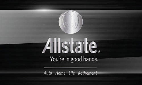 Black Allstate Business Card - Design #201121
