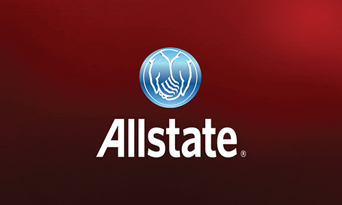 Red Allstate Business Card - Design #201203
