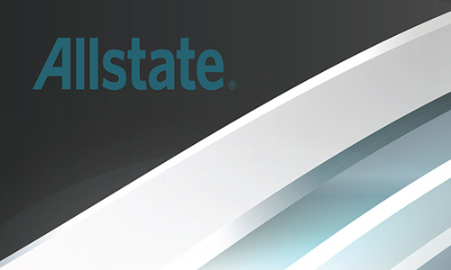 Blue Allstate Business Card - Design #201211